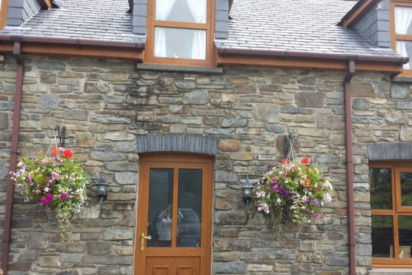 Outside View Of Our Holiday Cottage