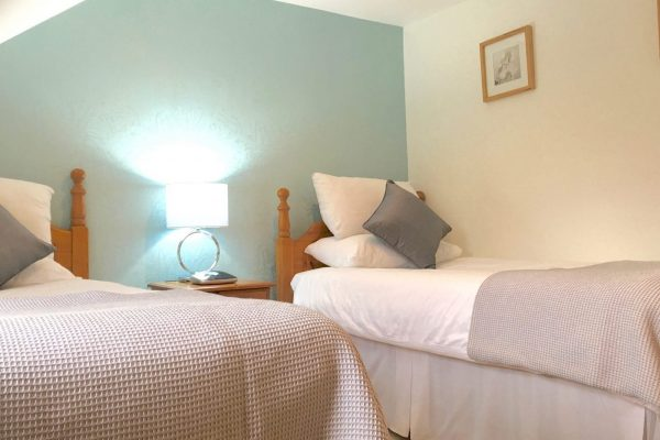 Twin Bedroom In Our Holiday Cottage